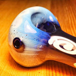 Two Tone Glass Pipe Mini Spiral Pattern | Weed Bowls | Free Shipping