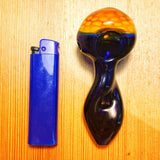 Two Tone Skinny Glass Pipe/Weed Bowls | Pipes For Sale | Free Shipping