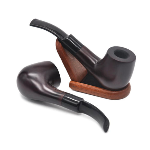 Red Sandalwood Wooden Handmade Pipe | Pipes For Sale | Free Shipping