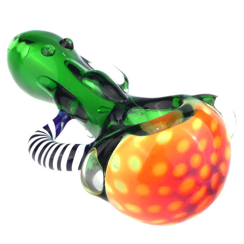 Fumed Bubble Glass Pipe Glass Horns | Pipes For Sale | Free Shipping