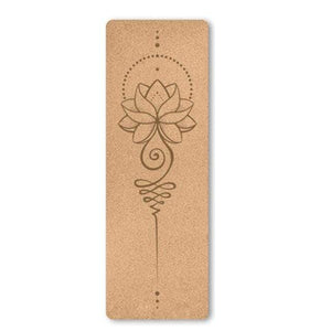 Open image in slideshow, Cork Yoga Mat