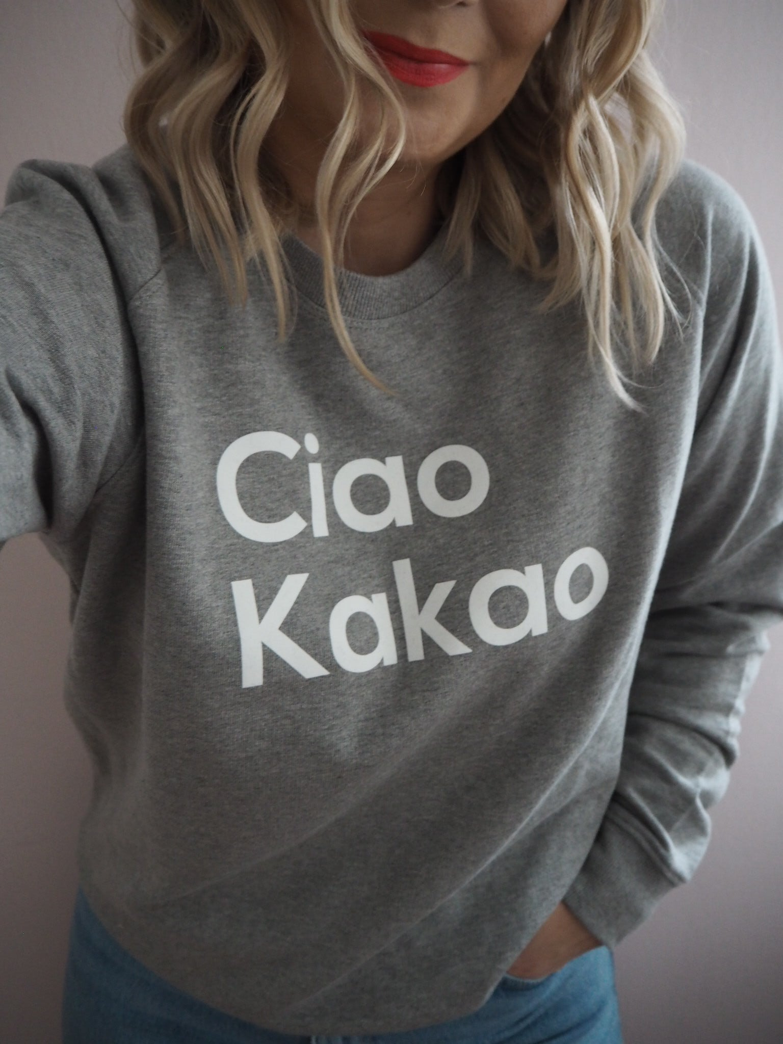 ''CIAO KAKAO'' Sweat Sweatshirt - LOVELY nature GbR