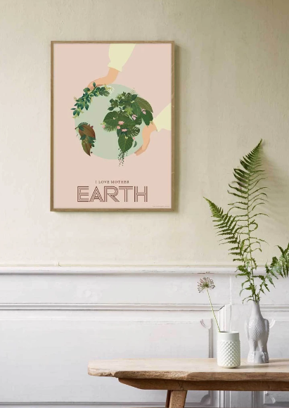 Poster - I love Motherearth Papeterie - LOVELY nature GbR