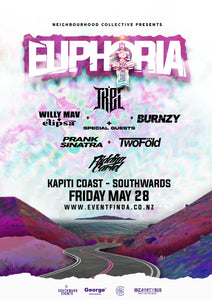HALOGENIX // Euphoria Pre Party // Palmerston North