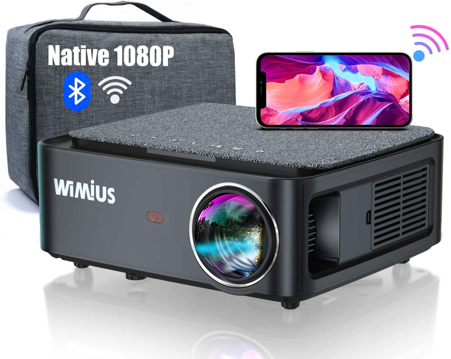 WiMiUS Video Projector - K1 - Wimius