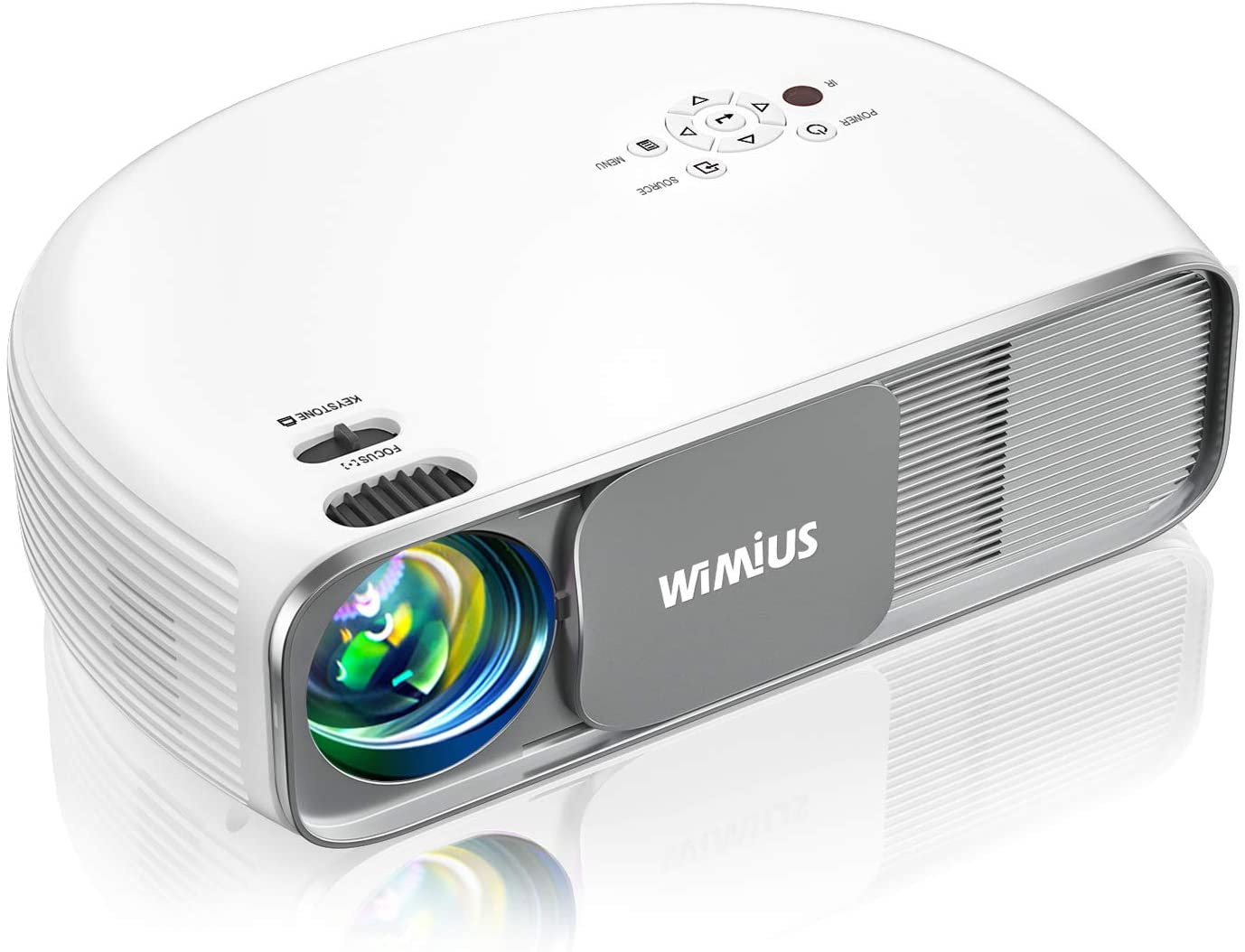 WIMIUS Bluetooth Projector - S4