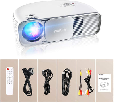 WIMIUS Bluetooth Projector - S4 - Wimius-store