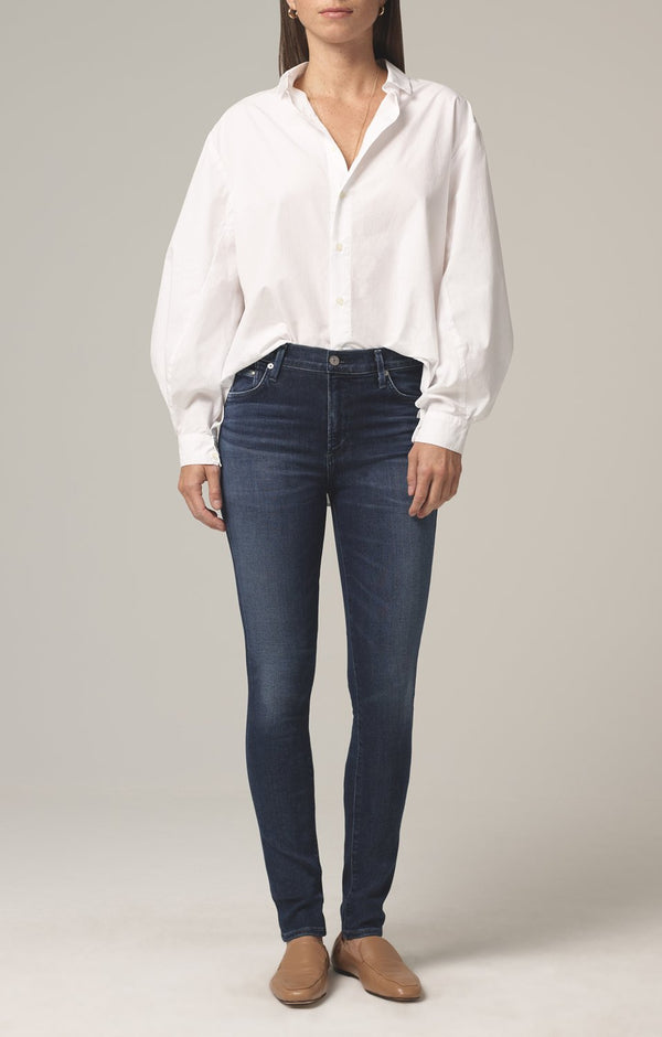 rocket mid rise skinny fit waverly front