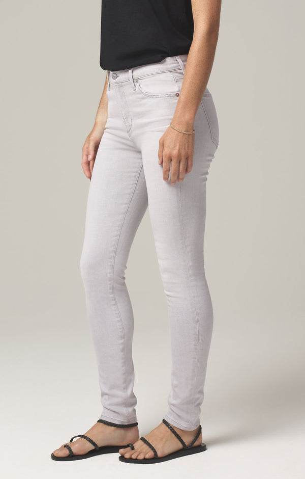 rocket crop mid rise skinny fit grey marble side