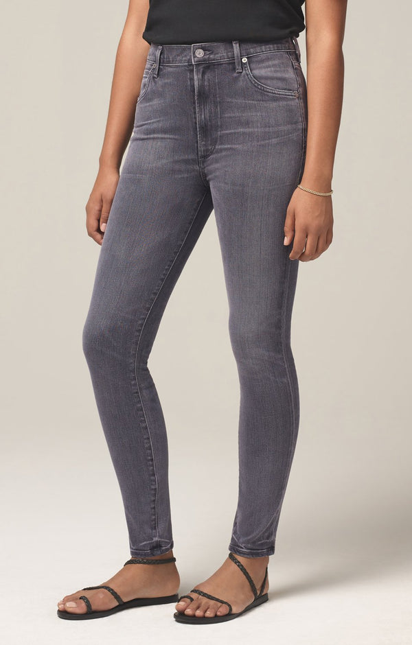 chrissy high rise skinny fit trance side