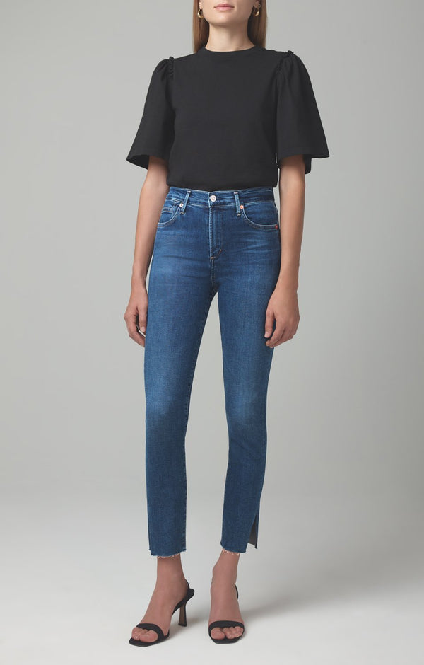 Rocket Ankle Mid Rise Skinny Fit in Rush