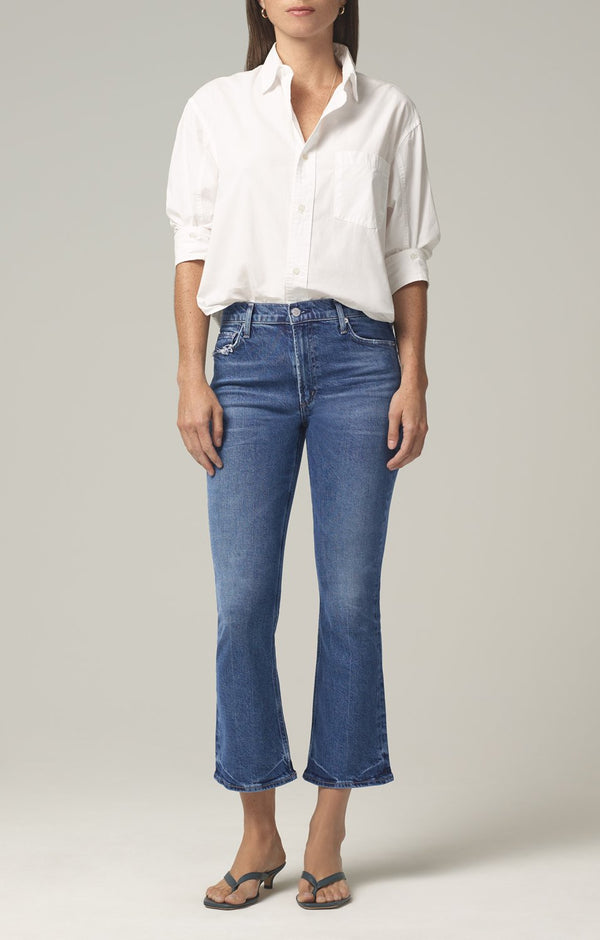 demy cropped flare denim moments front