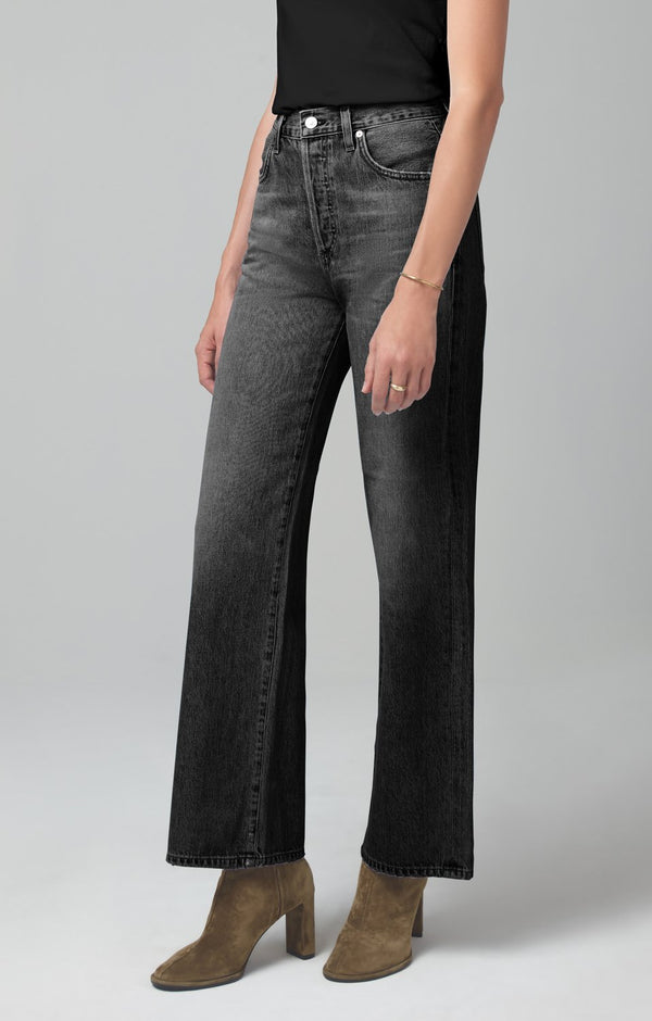 flavie trouser jean fade to black back