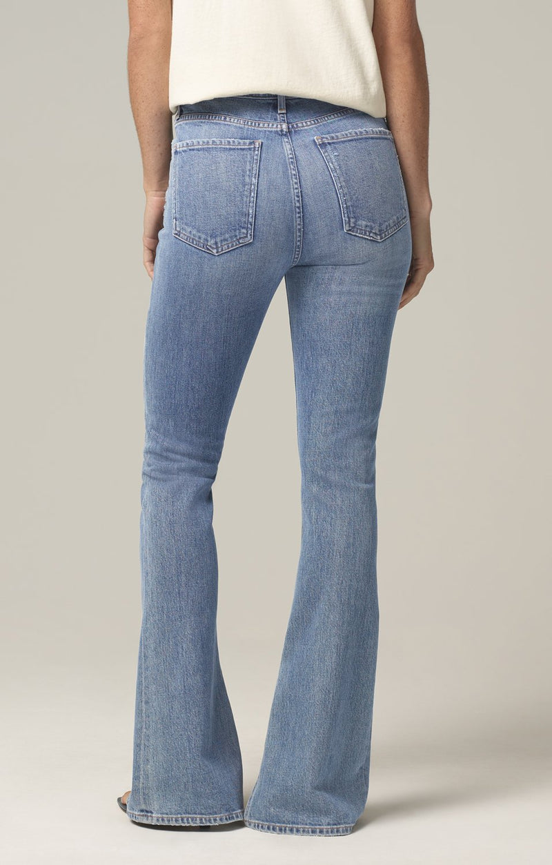 georgia high rise bootcut taboo back