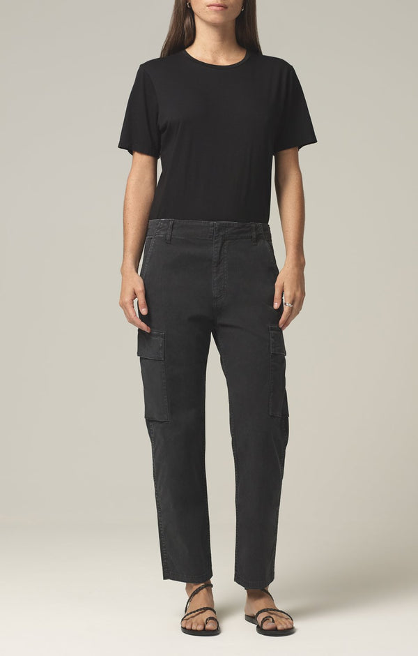 gaia pant washed black front