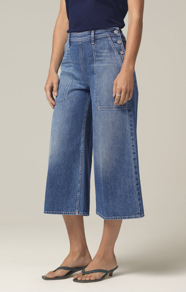 jackie side button culotte favorite side
