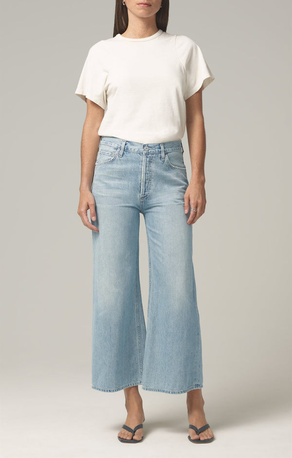 serena a line jean high dive front