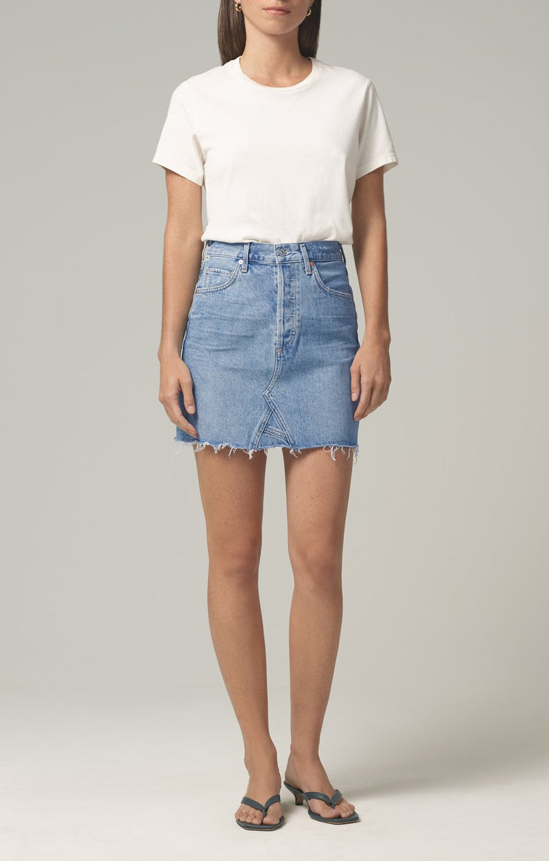 astrid mini skirt archive front