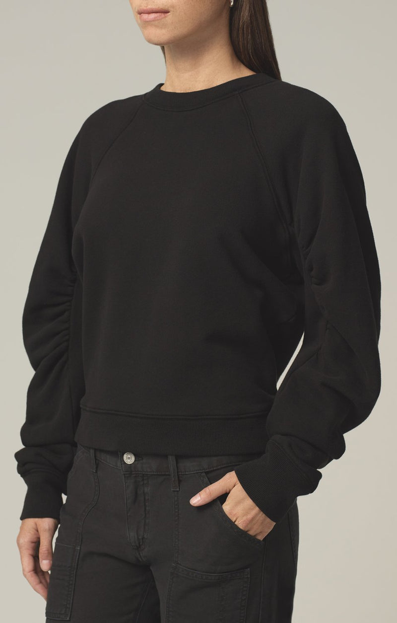 evelyn sweatshirt black side