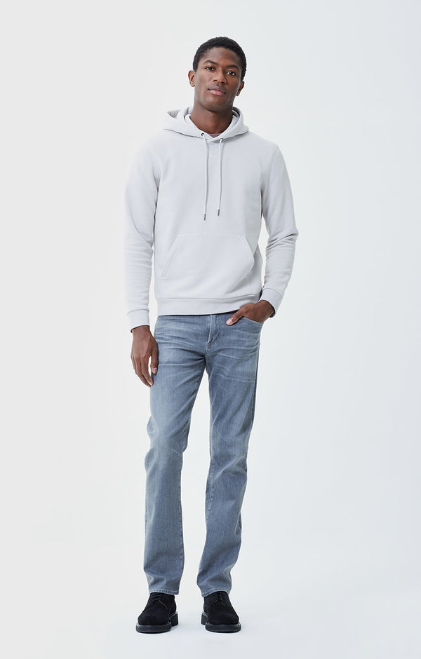 Gage Classic Straight Fit Perform Denim in Greyhound