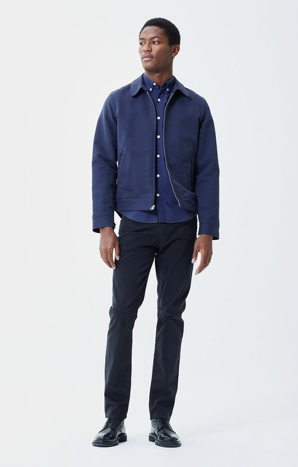bowery standard slim fit oxford perform front