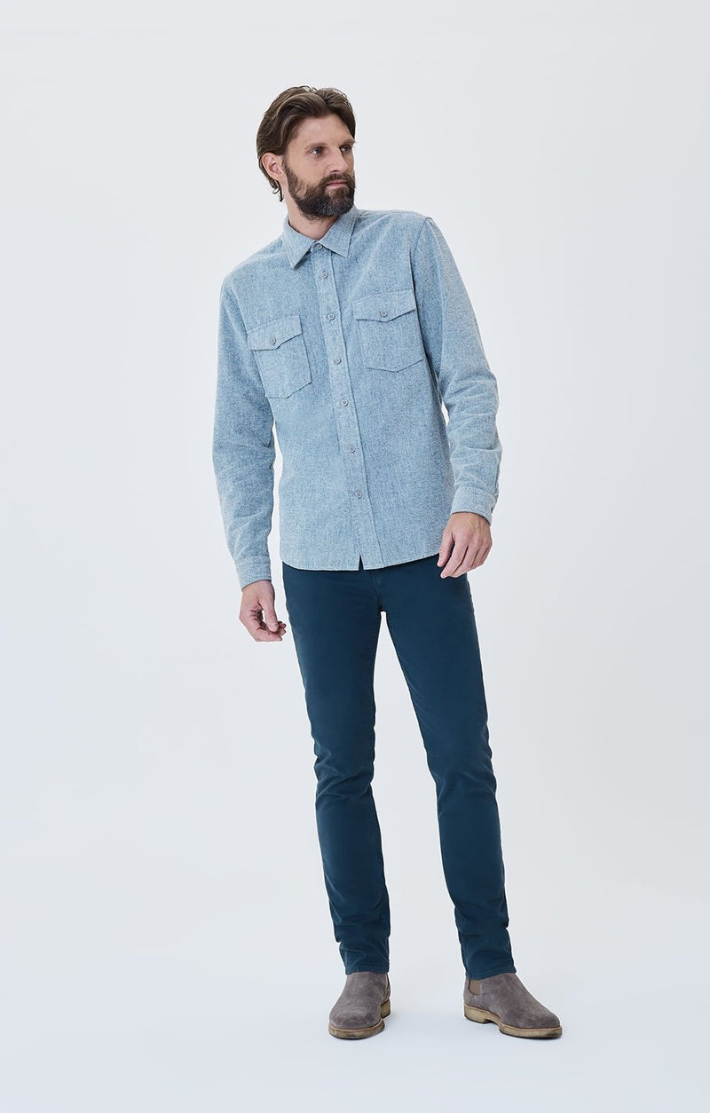 bowery standard slim fit deep dive front