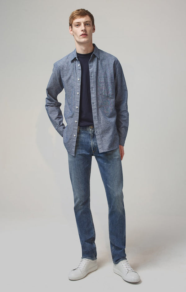 bowery standard slim fit aland front