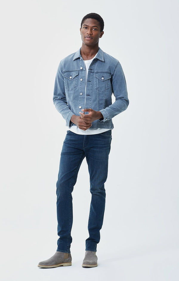 Noah Skinny Fit Perform Denim in Scotia