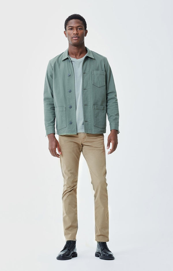 Gage Classic Straight Fit Twill in Siena