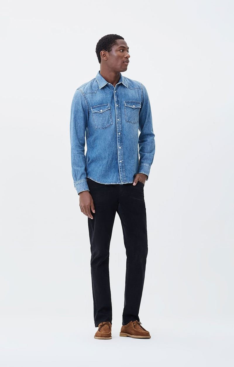Gage Classic Straight Fit Perform Denim in Ramon