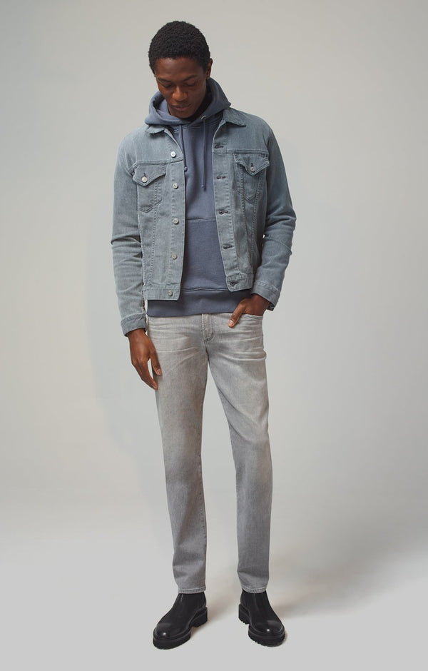 Gage Classic Straight Fit Perform Denim in Pavement