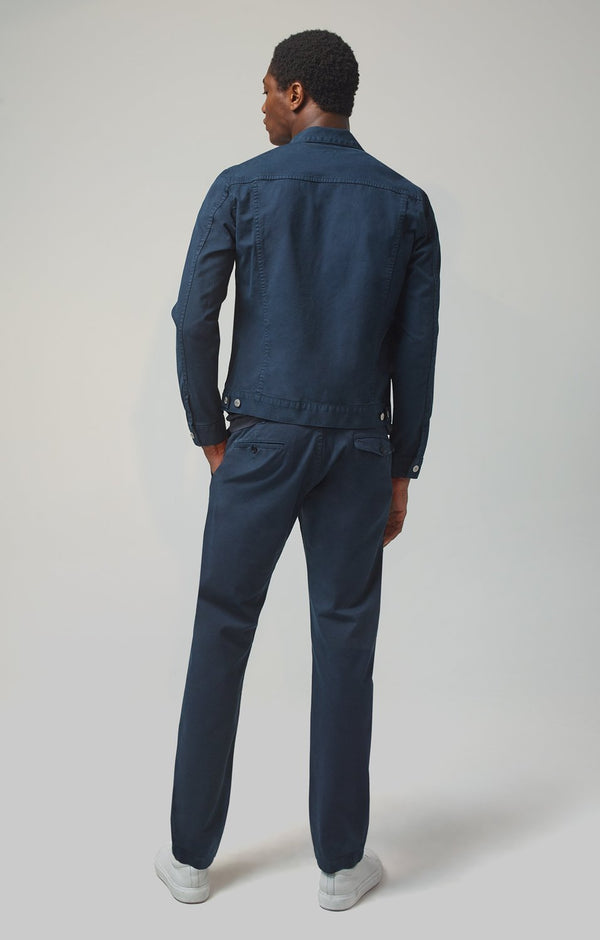 Logan Chino Slim Fit in Satellite
