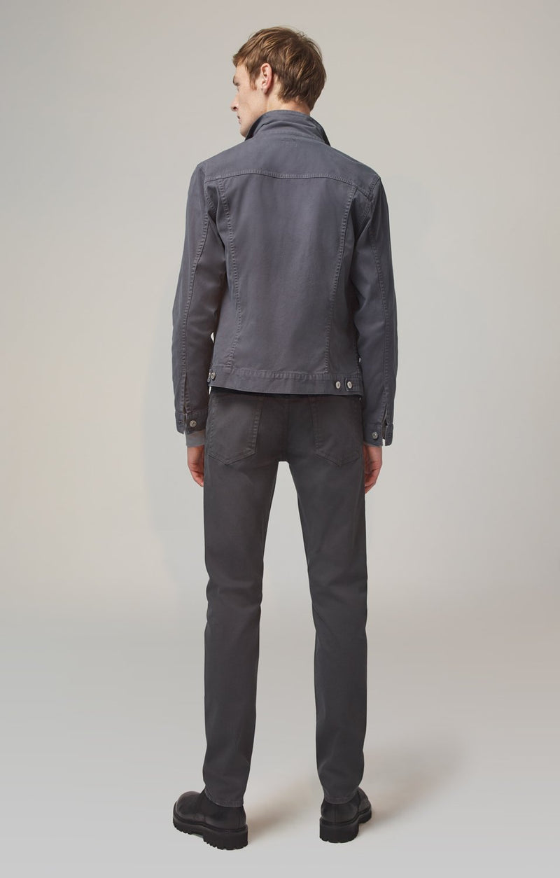 Bowery Standard Slim Fit Luxury Military Twill in Shadow