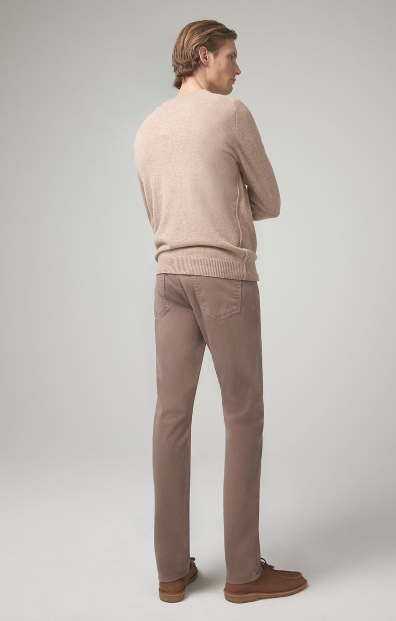 bowery standard slim fit latte back