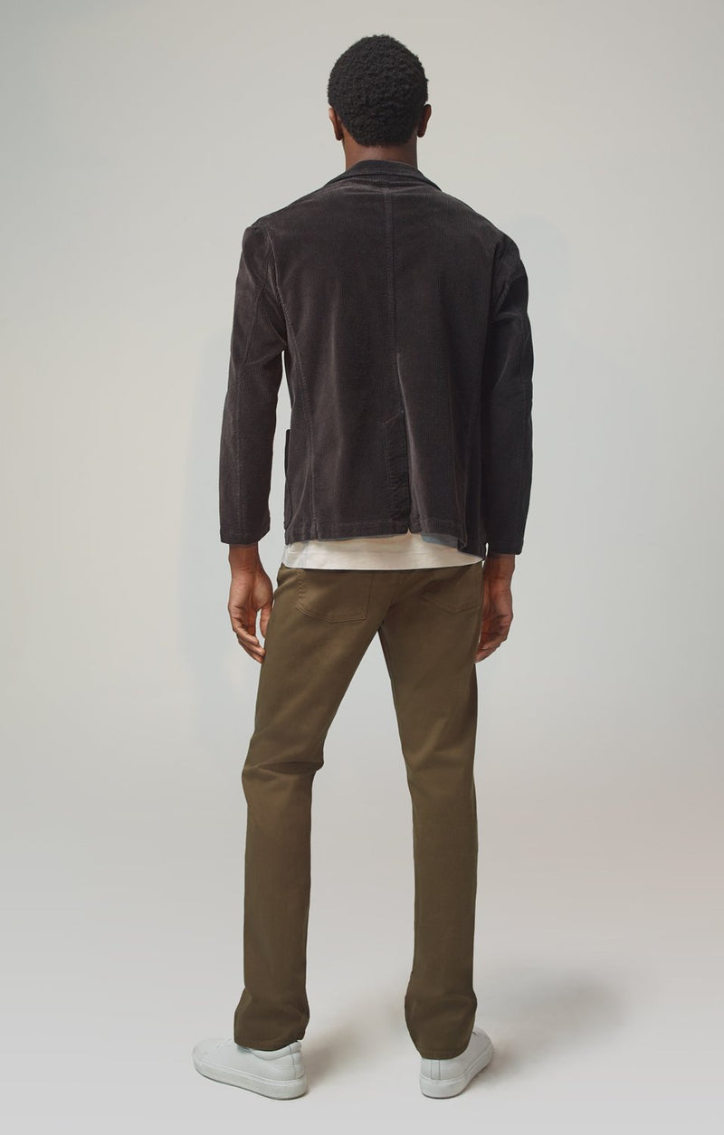 Gage Classic Straight Fit Luxury Military Twill in Woodland