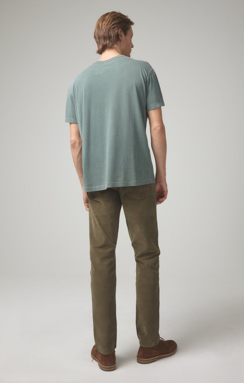 gage classic straight fit moss back