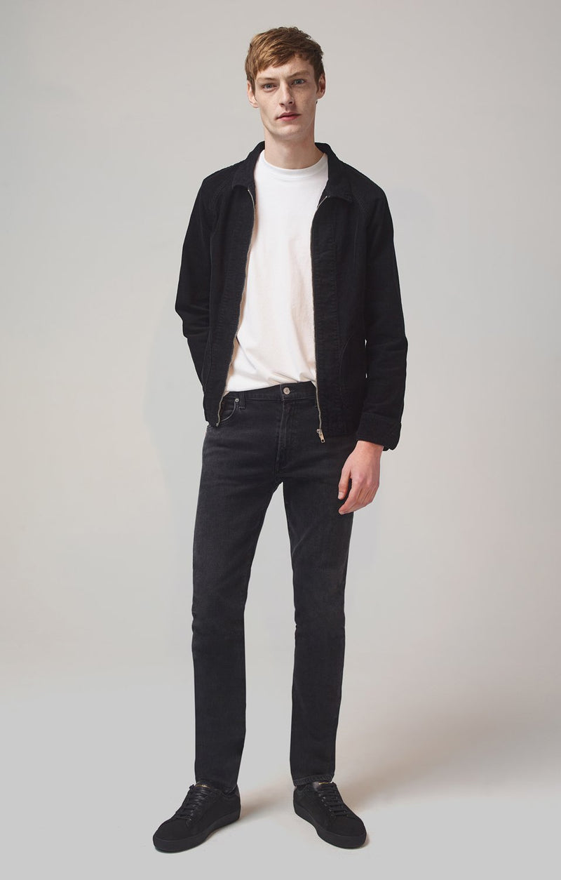 Bowery Standard Slim Fit Perform Denim in Eclipse