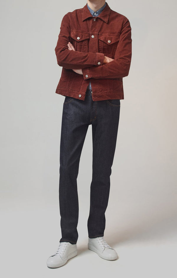 bowery standard slim fit dark age front
