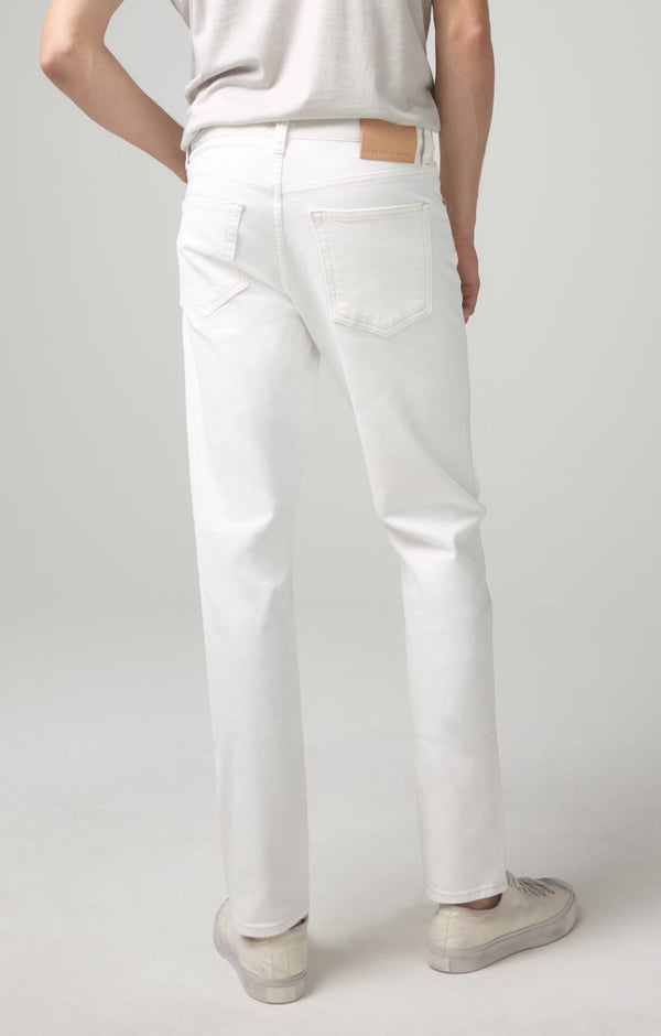 london slim fit white water back