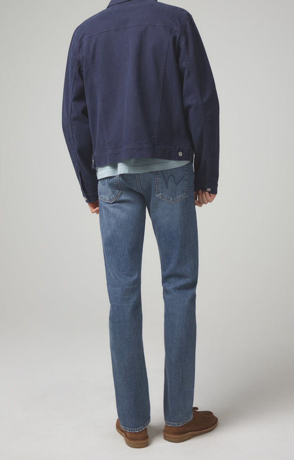 gage classic straight fit in blue daze back
