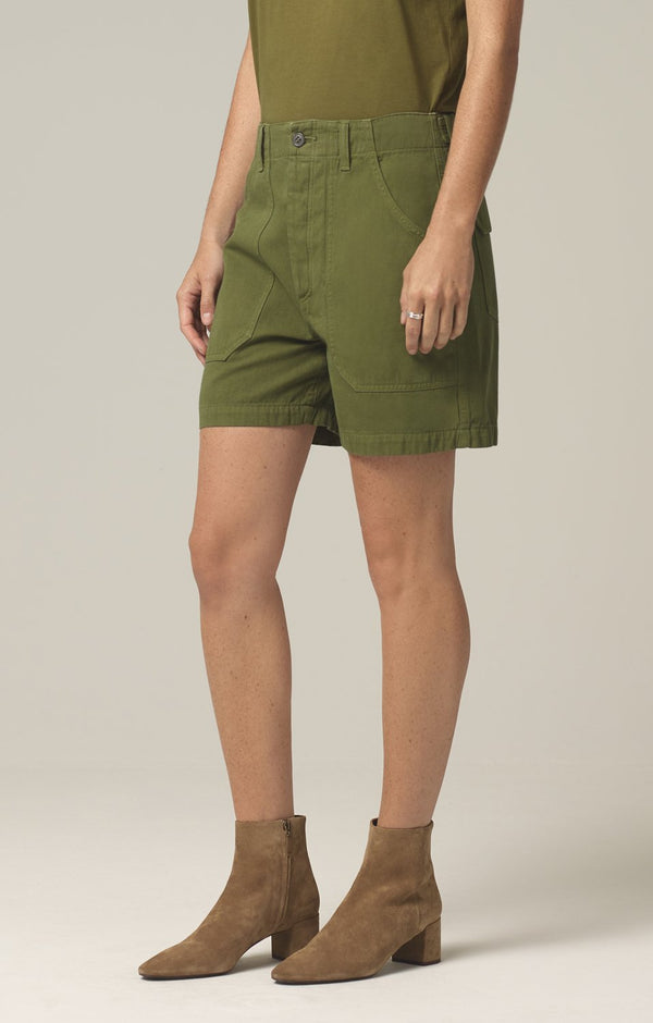 madeline relaxed patched pocket short cactus side