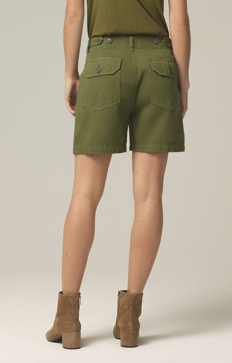 madeline relaxed patched pocket short cactus back