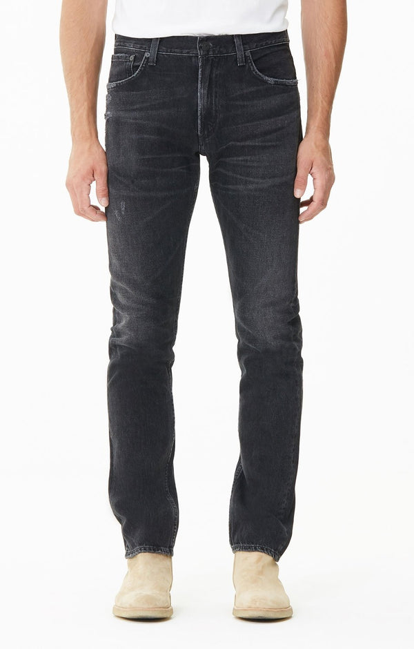 Bowery Standard Slim Fit Denim in Black Birch