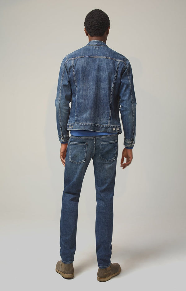 Bowery Standard Slim Fit Perform Denim in Aurora