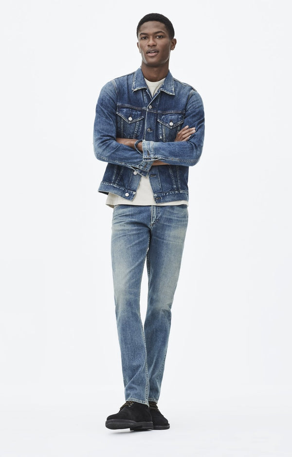 Bowery Standard Slim Fit Denim in Canyon