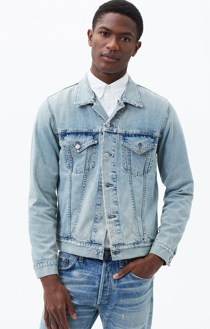 classic jacket silver city front