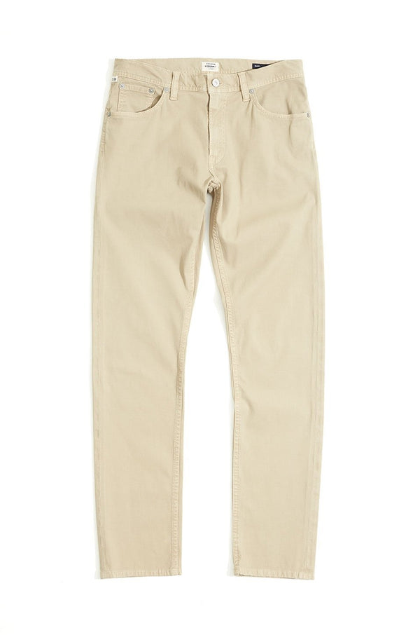 Bowery Standard Slim Fit Cord Lane in Sand