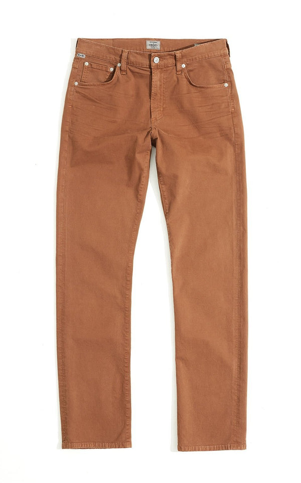 Gage Classic Straight Fit Twill in Earth
