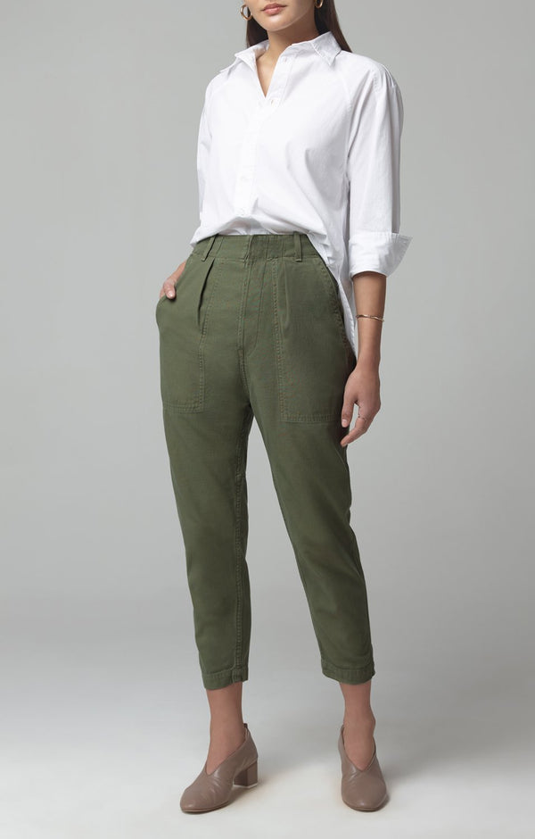 Harrison Tapered Pant in Laurel