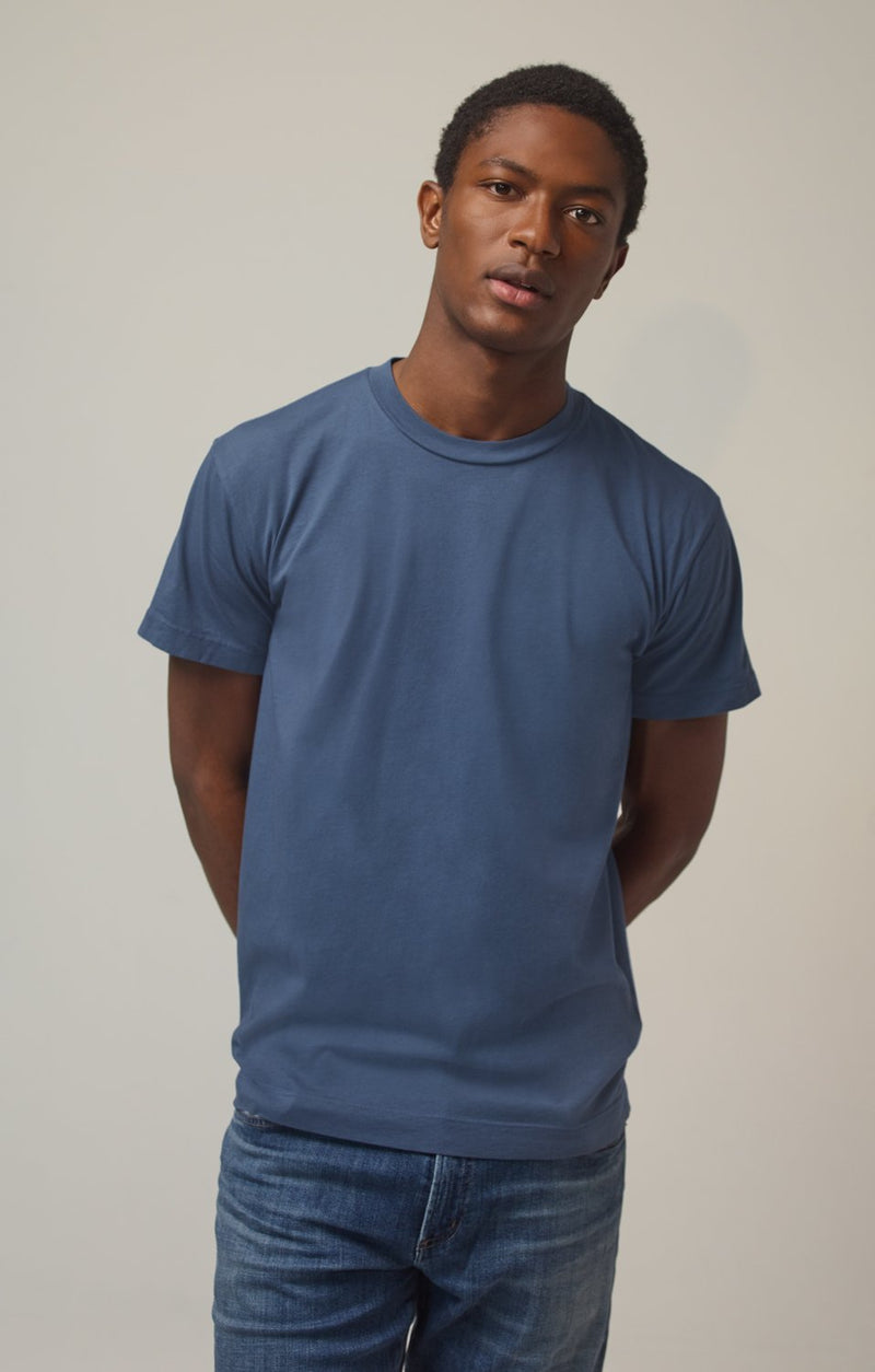 everyday short sleeve tee shirt slate front
